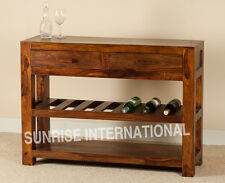 MANDIRA  Wood Wooden Console table / Dressing table / Hallway table !