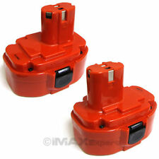 2 x 18V 2000mAh Ni-Cd Rechargeable Pod Style Battery for Makita Power Tools