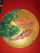 Vintage NORITAKE Special Collection  Koi Cabinet PLATE Rare