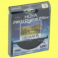 Genuine Hoya 72mm Pro1 D Digital Circular CPL Filter Pro1D CIR C-PL Polarizer