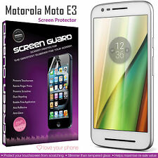 5 Pack Quality Scratch Protection Bundle Screen Protectors✔Motorola Moto E3