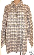 NWT New Basic Editions plus 18W long sleeve button front 100% cotton shirt top