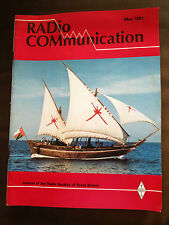 MAY 1981 'RADIO COMMUNICATION' (RAD COM) MAGAZINE