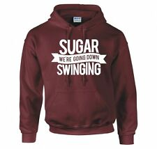 """FALL OUT BOY """"SUGAR WE'RE GOING DOWN SWINGING"""" HOODIE NEW"""