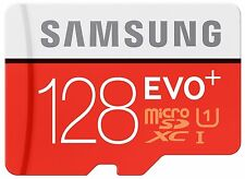 128GB Samsung Evo Plus microSD SDXC UHS-I Clase 10 Con Adaptador Sd Full HD de vídeo