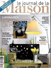 LE JOURNAL DE LA MAISON . N° 434 . EFFETS DE LUMINAIRES / MEUBLE TELE / BOUQUET