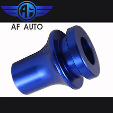 Blue M10X1.25 Shift Knob Boot Adapter For Manual Gear Shifter Lever For Infiniti