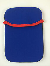 "FUNDA DE NEOPRENO 8"" PULGADAS PARA TABLET EBOOK COLOR AZUL"