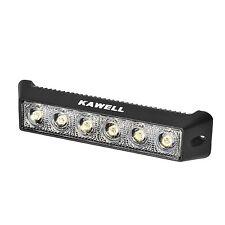 "KAWELL 18W 7.5"" DC 9-32V Flood 1200LM 60 Degree LED for ATV/Jeep/boat/suv/truck"