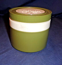 Thermos Insulated Jar 1155/3  60s Plastic Olive Green & White