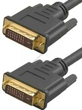 16ft DVI-D/DVID Cable/Cord,PC/DVD/DVR~HDTV/Plasma/LCD/LED/Projector/Monitor{DL