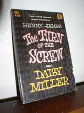 The Turn of the Screw & Daisy Miller by Henry James(Dell#D181,9'thPrt,1962,PB)