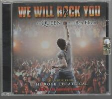 by QUEEN and BEN ELTON WE WILL ROCK YOU CD