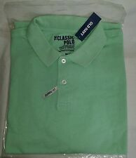 New in Pkg OLD NAVY Classic Fit Size L TALL  Polo Shirt Soft Jade Color