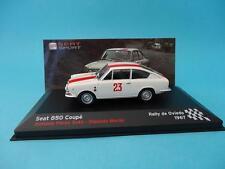 SEAT 850 COUPE FIAT #23 - A.PEREZ SUTIL - RALLY OVIEDO 1967 1/43 NEW IXO ALTAYA