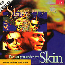 ★☆★ CD SINGLE U2 & Frank SINATRA Stay CARD SLEEVE 2-track RARE FRANCE 1993 ★☆★