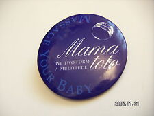 MASSAGE YOUR BABY PICTURE BADGE