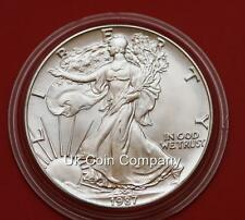 1987 American 1oz Silver Liberty Eagle $1 One Dollar Coin