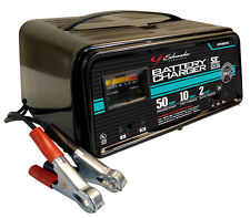 Schumacher SE-5212A 2/10/50A 12V Fully Automatic Battery Charger w/Engine Start