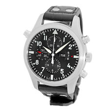 IWC Stainless Steel 46mm Split Second Pilot 3778 Double Chronograph IW3778-01