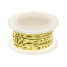 Brass Craft Wire Non Tarnish for Jewellery 0.60mm 22 AWG - 8 yards (C108)