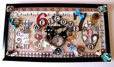 Alice In Wonderland Through The Looking Glass Welcome Wall Door Picture Decor
