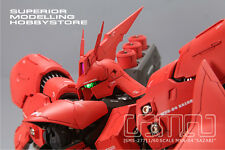 SMS-277 1/60 MSN-04 Sazabi Full resin kit, Gundam model RX93 Nu robot sci-fi