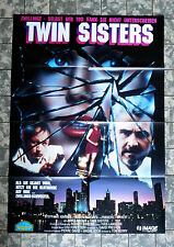TWIN SISTERS - Der Callgirl-Killer * VIDEO-POSTER A1 - German 1-Sheet ´92