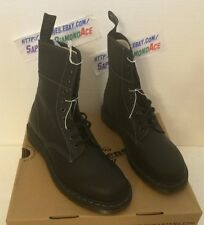 DR. MARTENS Men's Bart Casual Combat Boots BLACK USA 13 BRAND NEW Retail $160.00