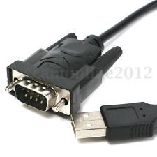 Câble Adaptateur Convertisseur USB 2.0 vers Série DB9 9 Pin RS232 RS-232 80cm