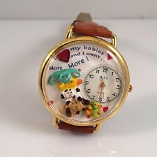 """Vintage WYL What's Your Line Whimsical Watches Women's Watch """"I Heart My Babies"""""""