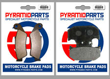 Yamaha WR 400 F 1998 Front & Rear Brake Pads Full Set (2 Pairs)