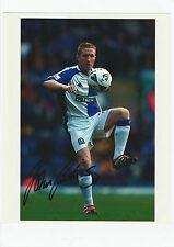 JOHN CURTIS BLACKBURN ROVERS 2000-2003 ORIGINAL HAND SIGNED PHOTOGRAPH