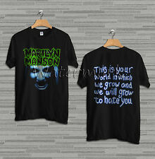 Marilyn manson Rock T shirt Size S to 2XL