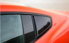 2015-2016 Mustang Coupe Roush 421881 Side Quarter Window Scoops Black - Pair