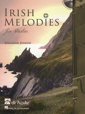 Irish Melodies for Violin Sheet Music Book & Play-Along CD Celtic Fiddle