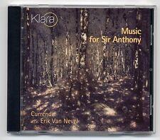 Klassik CD Currende o.l.v. Erik Van Nevel Music For Sir Anthony Klara MMP 014