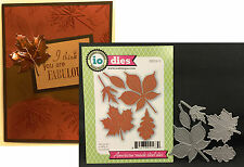 IMPRESSION OBSESSION DIES - Large Leaves die set DIE030-S fall autumn leaf oak