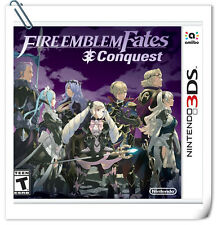 3DS Nintendo Fire Emblem Fates: Conquest RPG
