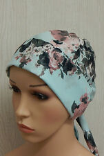 Chemotherapy head covering, cancer head wrap, chemo caps head wear, chemo hat