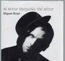 MIGUEL BOSE CD single PROMO 1 traccia EL AMOR DESPUES DEL AMOR nuovo SIGILLATO