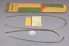 NOS 1955 CHEVROLET BEL AIR GM ACCESSORY DOOR EDGE GUARDS, 4-DOOR, #987128
