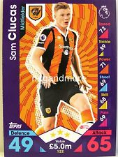 Match Attax 2016/17 Premier League - #122 Sam Clucas - Hull City