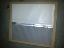 Seitz motorhome caravan window blind frame brown frame old style 75cm x 69cm