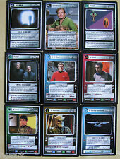Star Trek CCG The Trouble with Tribbles Complete Common Card Set (40 Cards)