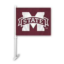 Mississippi State Bulldogs Car Flag
