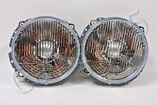 HELLA Mercedes G-Class W460 W463 1979- Halogen Headlights Pair 1A8004148-007