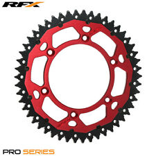 RFX Hybrid Rear Sprocket Beta RR 250 300 350 430 450 13-17 (49 T) Armalite Red