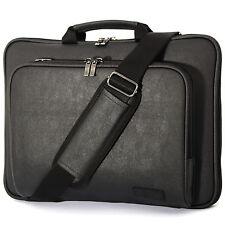 "Microsoft Surface Pro 4 12.3"" Laptop Case Sleeve Memory foam Shoulder Bag Black"