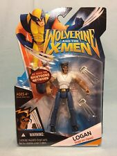 Marvel Wolverine & The X-Men Logan Snap-on Claws! White Shirt MOSC